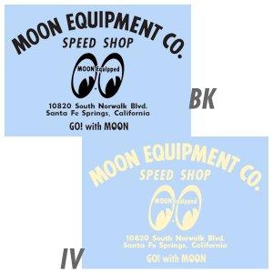 画像: MOON EQUIPMENT SPEED SHOP デカール