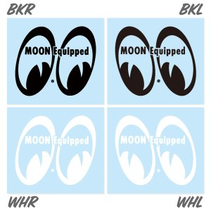 画像: MOON Equipped Eyeshape Die Cut ステッカー
