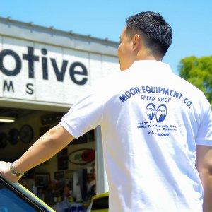 画像: MOON Equipped Speed Shop ポロシャツ