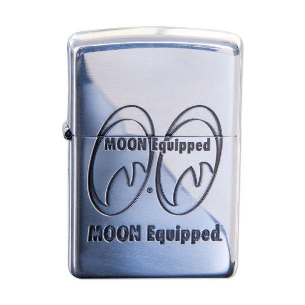 画像2: MOON Equipped Zippo ライター (2)