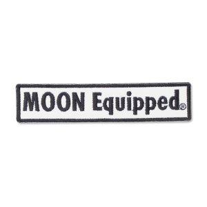 画像: MOON Equipped ロゴ スクエア パッチ