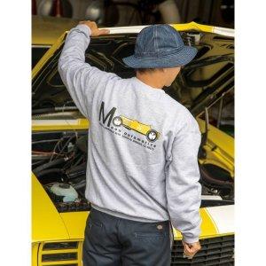 画像: MOON Equipped Yellow Roadster スウェットシャツ