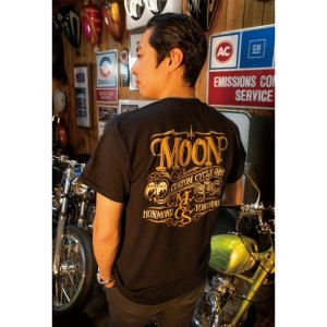 画像: MOON Custom Cycle Shop Tシャツ