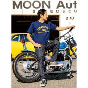 画像: MOON Custom Cycle Shop Tシャツ