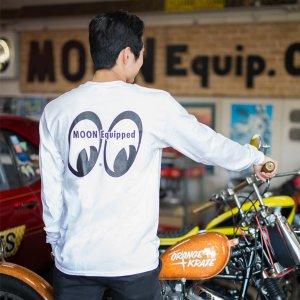 画像: MOON Equipped ポケット付 ロング スリーブ Tシャツ