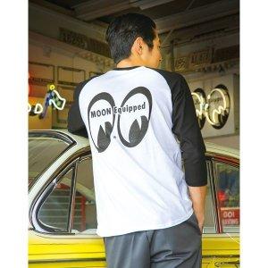 画像: MOON Equipped 3/4 スリーブ Tシャツ