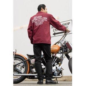 画像: MOON Custom Cycle Shop コーチ ジャケット