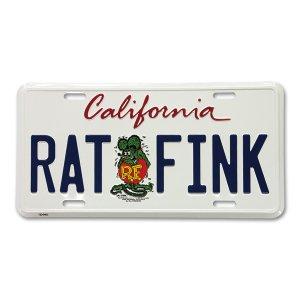 画像: Rat Fink カリフォルニア プレート