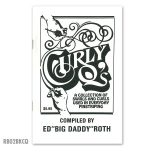 画像: ED ROTH BOOK - CURLY Q's (カーリング テクニック)