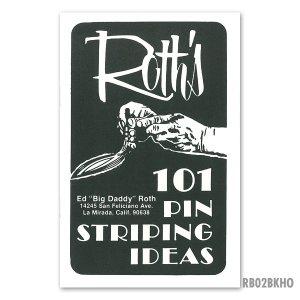 画像: ED ROTH  BOOK - 101 PINSTRIPING IDEAS