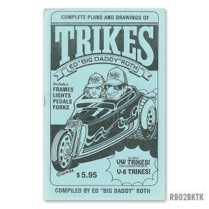 画像: ED ROTH BOOK - TRIKES (HOW TO BUILD TRIKES! V8 & VW)