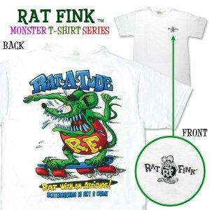 """画像: ラット フィンク モンスター Tシャツ """"Rat-a-Tude"""""""
