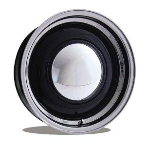 画像: ベビー ムーン スペシャル ホイール 16インチ 5穴 112mm +25mm ブラック/ポリッシュ