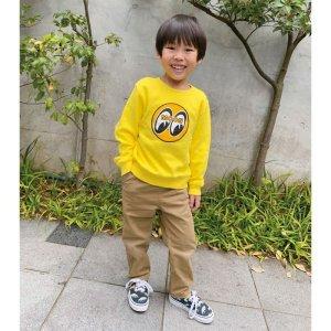 画像: EYEBALL インファント (幼児用) スウェットシャツ イエロー