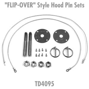 "画像: ""FLIP-OVER"" Style Hood Pin Sets"