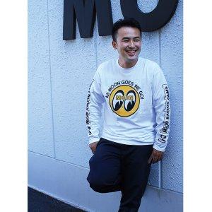 画像: MOON Eyeball ロングスリーブ Tシャツ