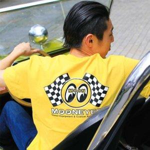 画像: Checker MOON Tシャツ