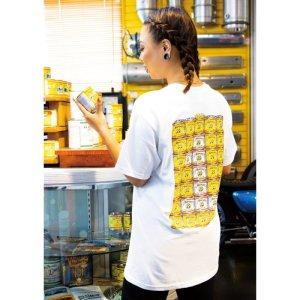 画像: MOON ペイント カン Tシャツ