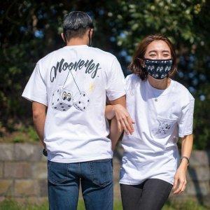 画像: MOON ダイス ポケット Tシャツ