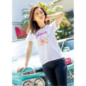 画像: MOON ダイス レディース Tシャツ