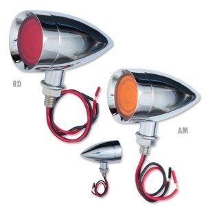 画像: 9 LED デュアル ファンクション ミニ バレット ライト