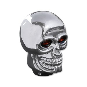 画像: Plastic Skull シフトノブ クローム