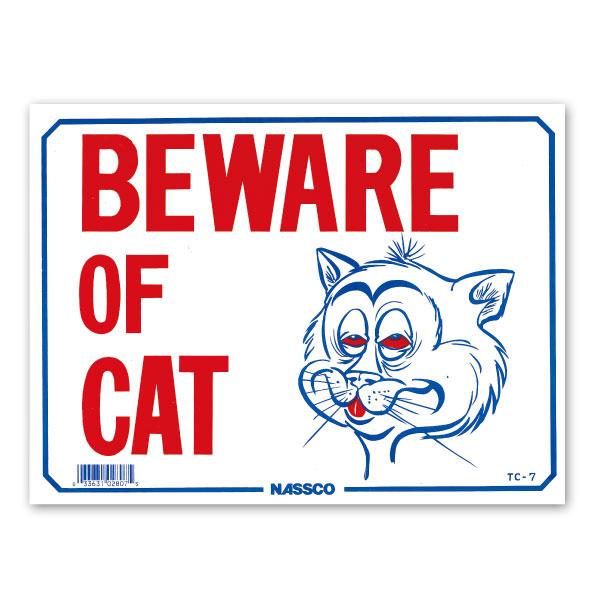 画像1: BEWARE OF CAT (1)